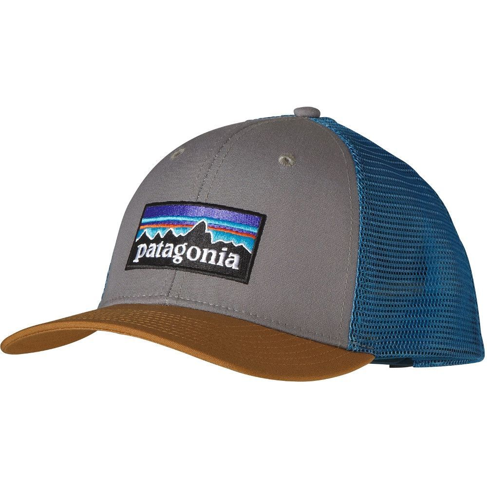 The P-6 Logo Trucker Hat gives a contemporary nod to Patagonia s roots f9983ee2bfd