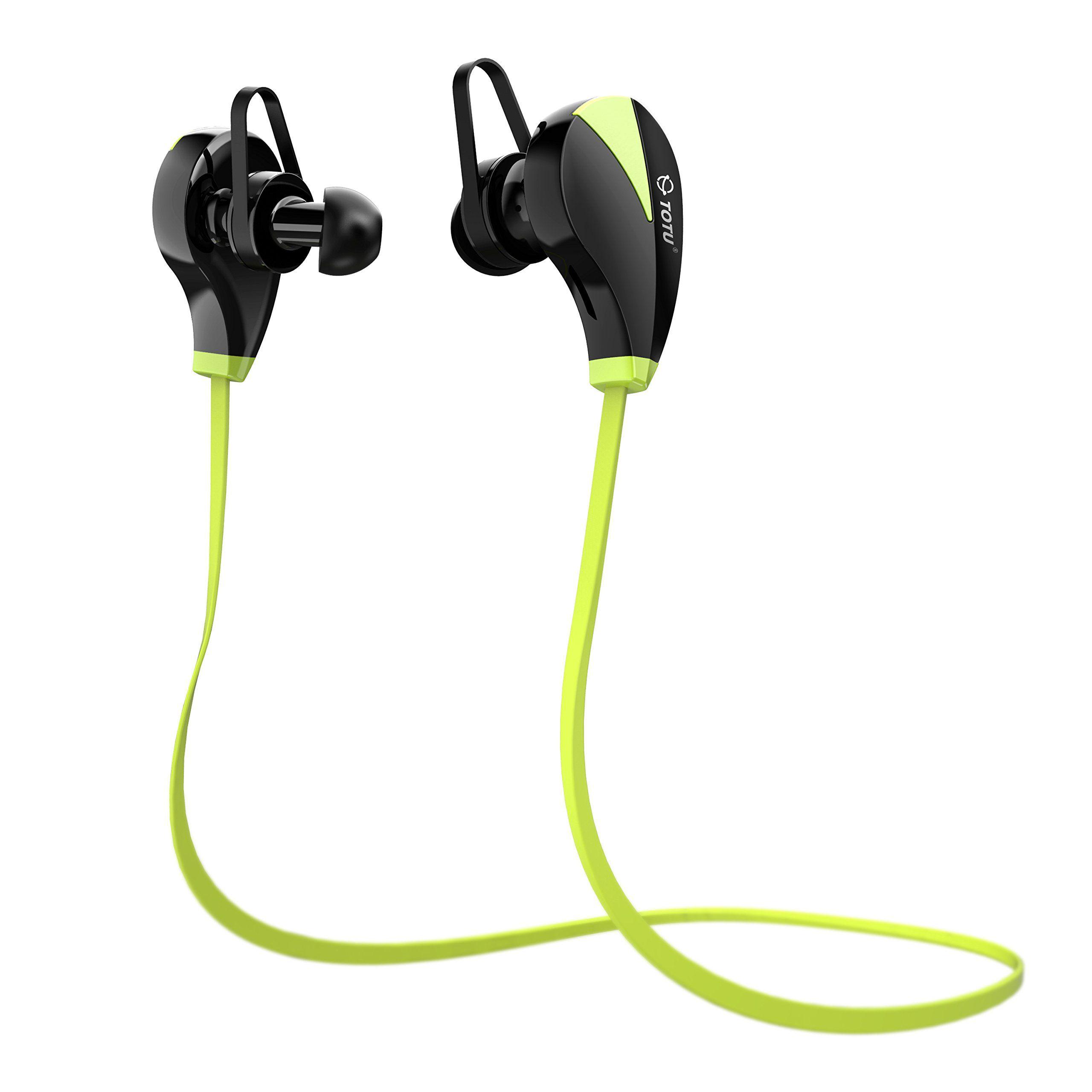Bluetooth Headphones, TOTU Wireless V4.1 Stereo Noise
