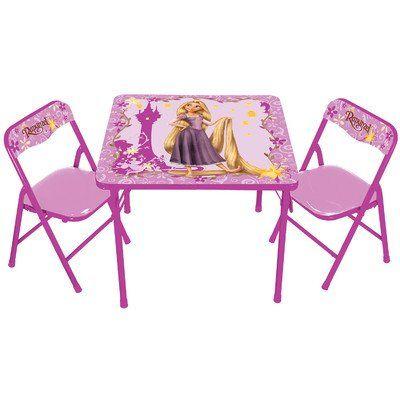 Kids Only Disneys Tangled Rapunzel Activity Table Set Want