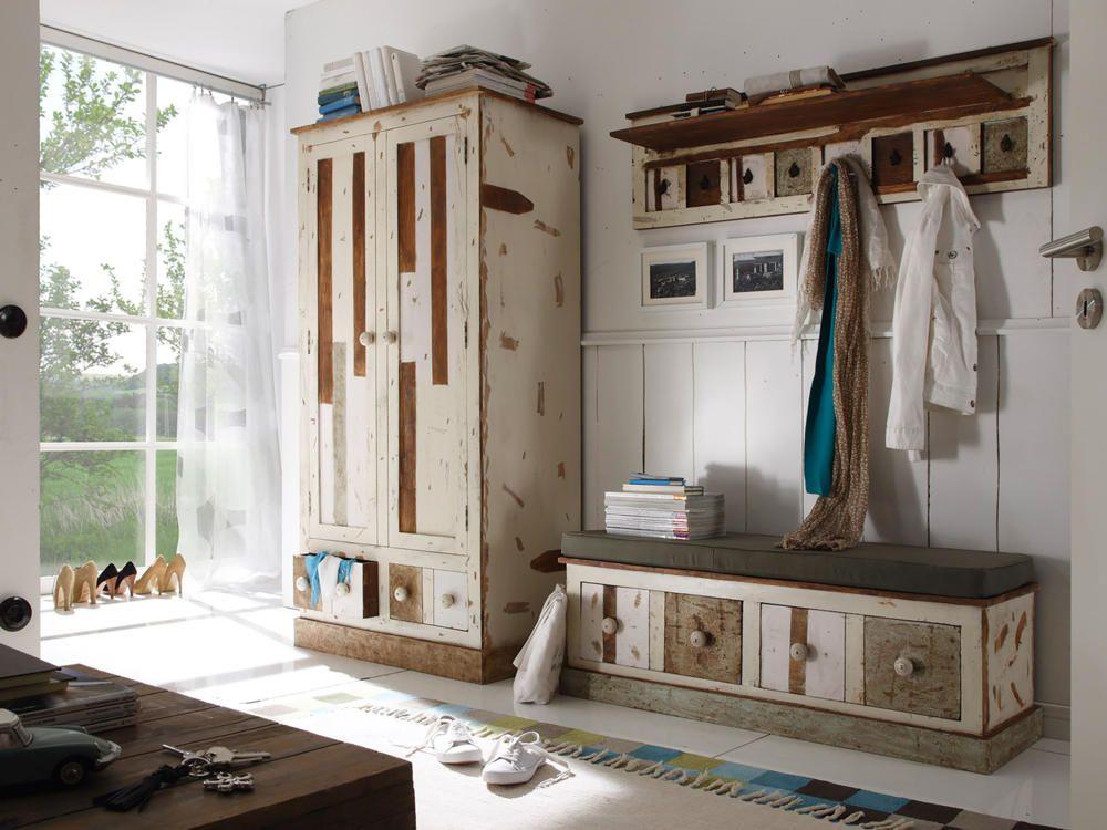 Genial garderobe shabby | Deutsche Deko | Pinterest