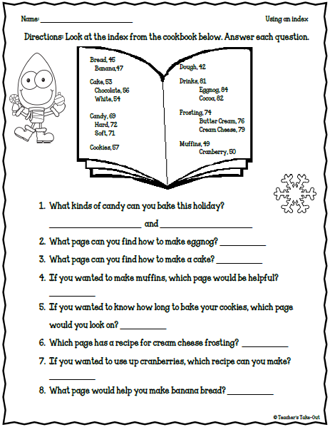 5 days of holiday cheer day 3 christmas worksheets holiday 3rd grade. Black Bedroom Furniture Sets. Home Design Ideas