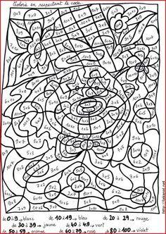 Coloriage Magique Cp Janvier.Coloriage Magique Passe Present Futur Coloriages Educatifs