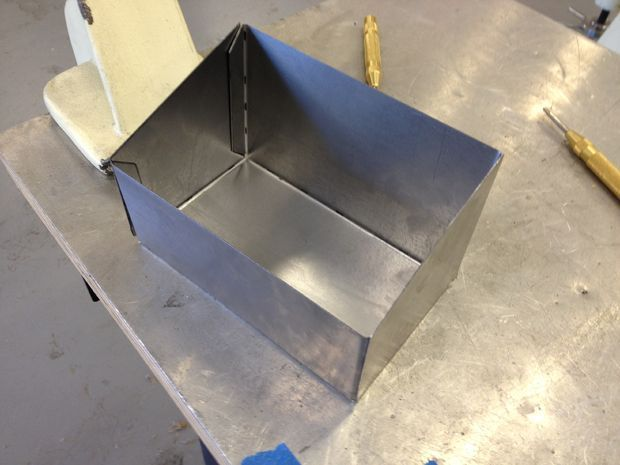 How To Make A Sheet Metal Box All Sheet Metal Metal Tool Box Metal Box