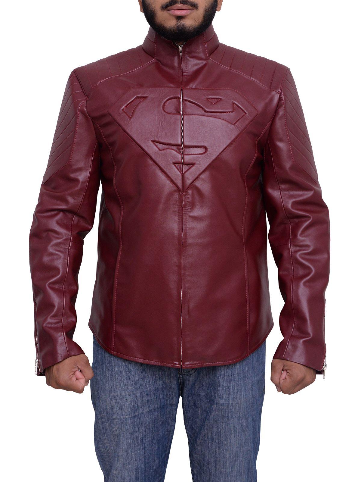 Superman Smallville Red Jacket Red jacket, Jackets