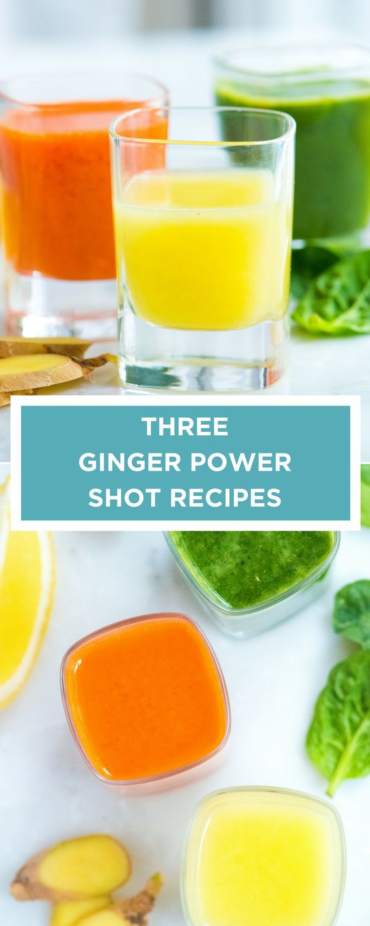 Three Ginger Power Shot Recipes Recipe Ginger shot