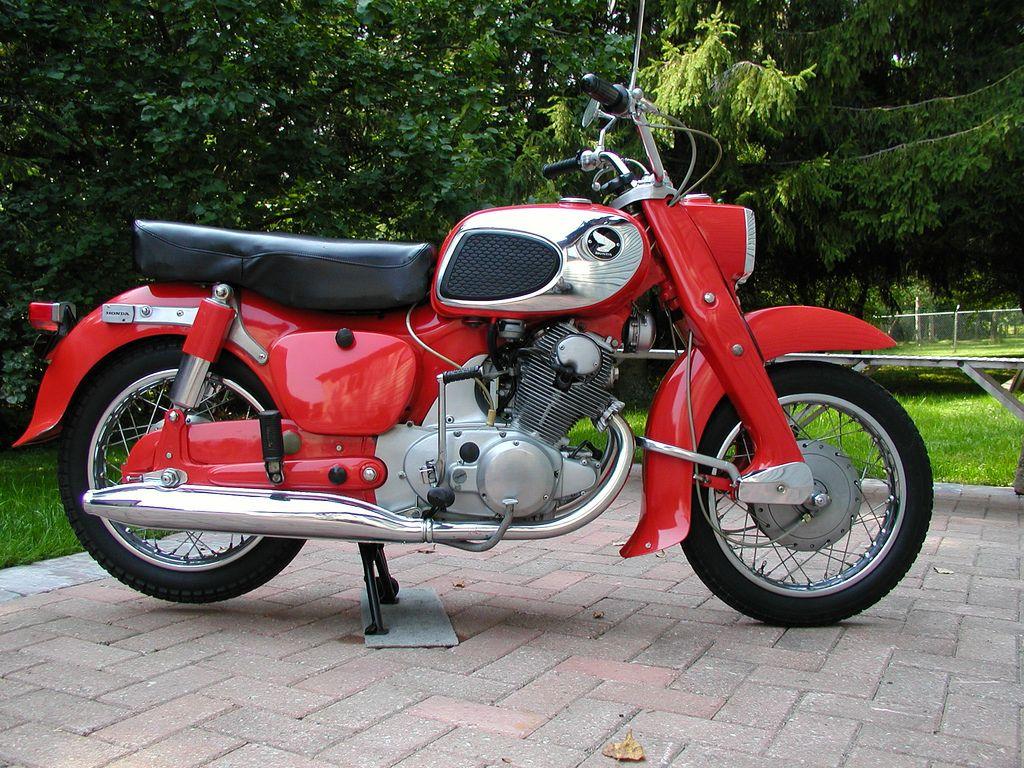 2c2fe66edba 1966 Honda 305 Dream