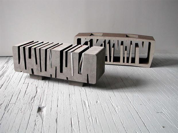 Recycled Paper Table - Matt Gagnon Studio