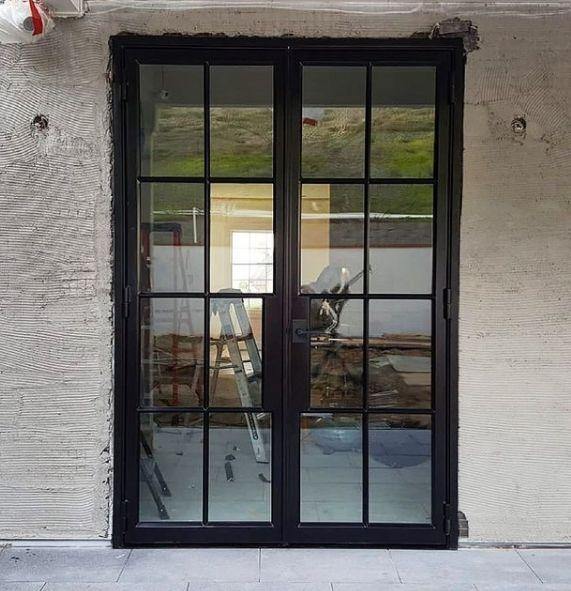 STEEL FRENCH DOORS