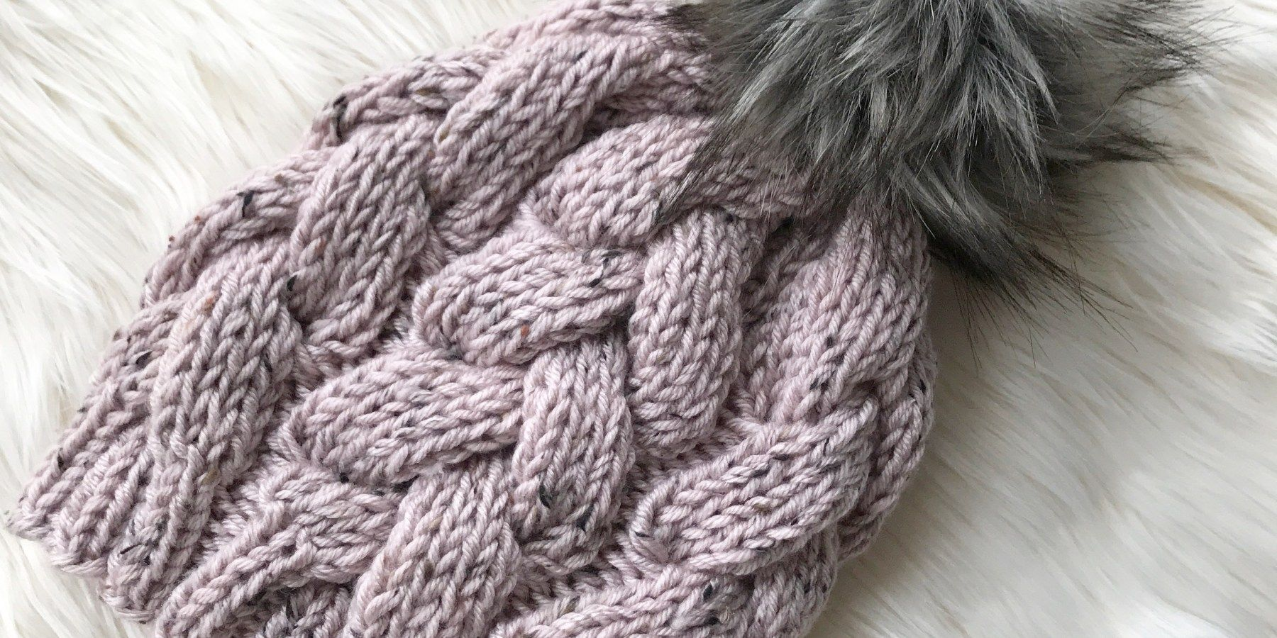 Chunky Braided Beanie (With images) | Knitted slippers ...