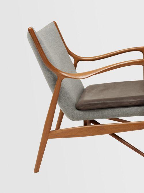 Antieke Lounge Stoel.Wright20 Finn Juhl Lounge Chairs Model Nv 45 Pair Voor Het Huis
