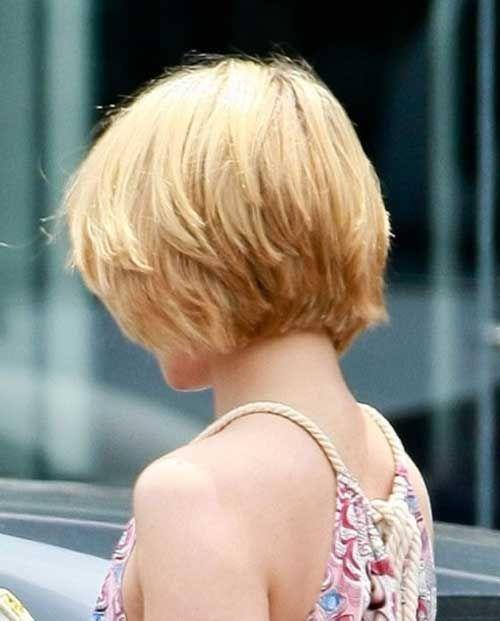 Short Layered Bob Haircuts Back View Short Layered Bob Hairstyles Back View New Hairstyles Haircuts Short Hair With Layers Crop Hair Hair Styles
