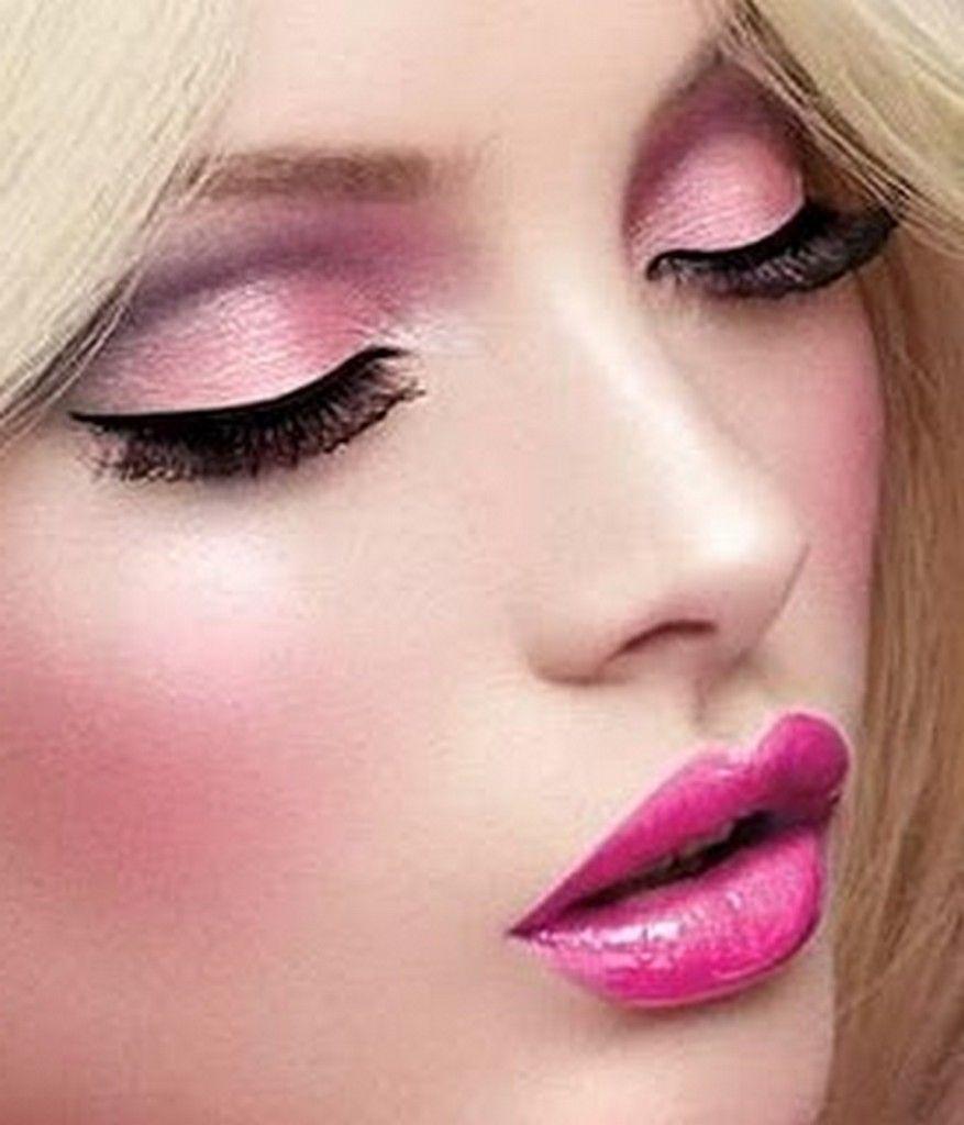 Maquillaje en rosa. | MAQUILLAJE | Pinterest | Maquillaje, Rosas y ...