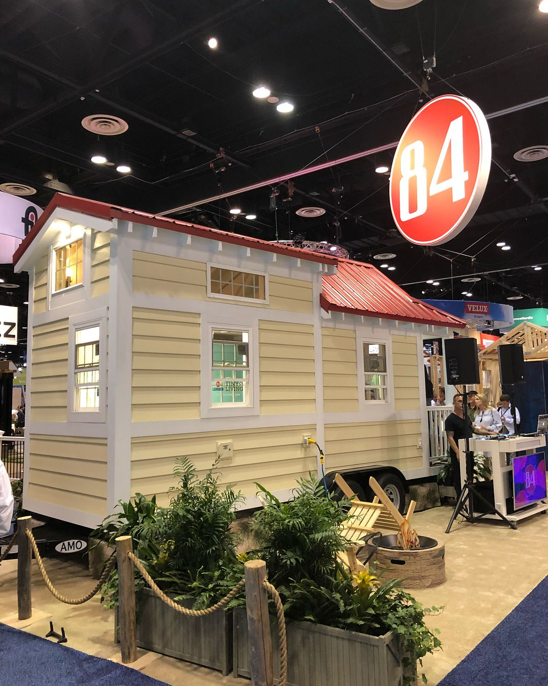 We Loved @84lumberu0027s Display At #ibs! Theyu0027ll Sell You A Complete Tiny Home  Ready For Move In, Or A Shell You Can Finish Yourself!