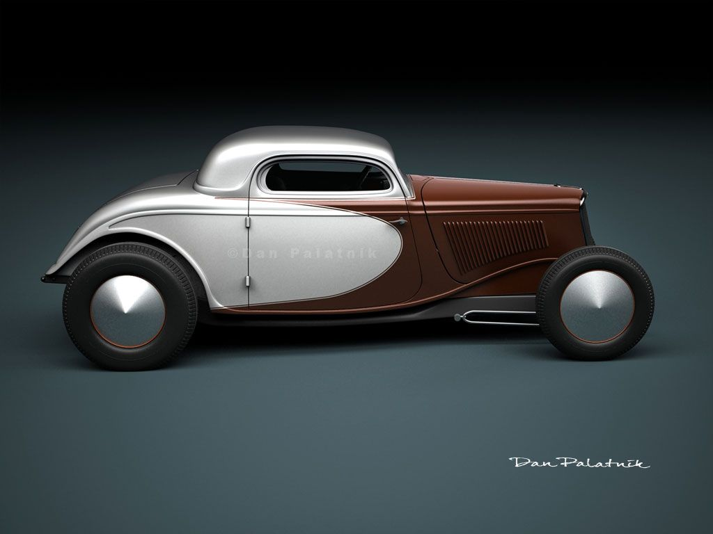 A Garagem Digital De Dan Palatnik The Digital Garage Project 1934 Ford 3 Window Coupe Custom Hot Rods Cars Hot Rods Cars Muscle Ford Hot Rod