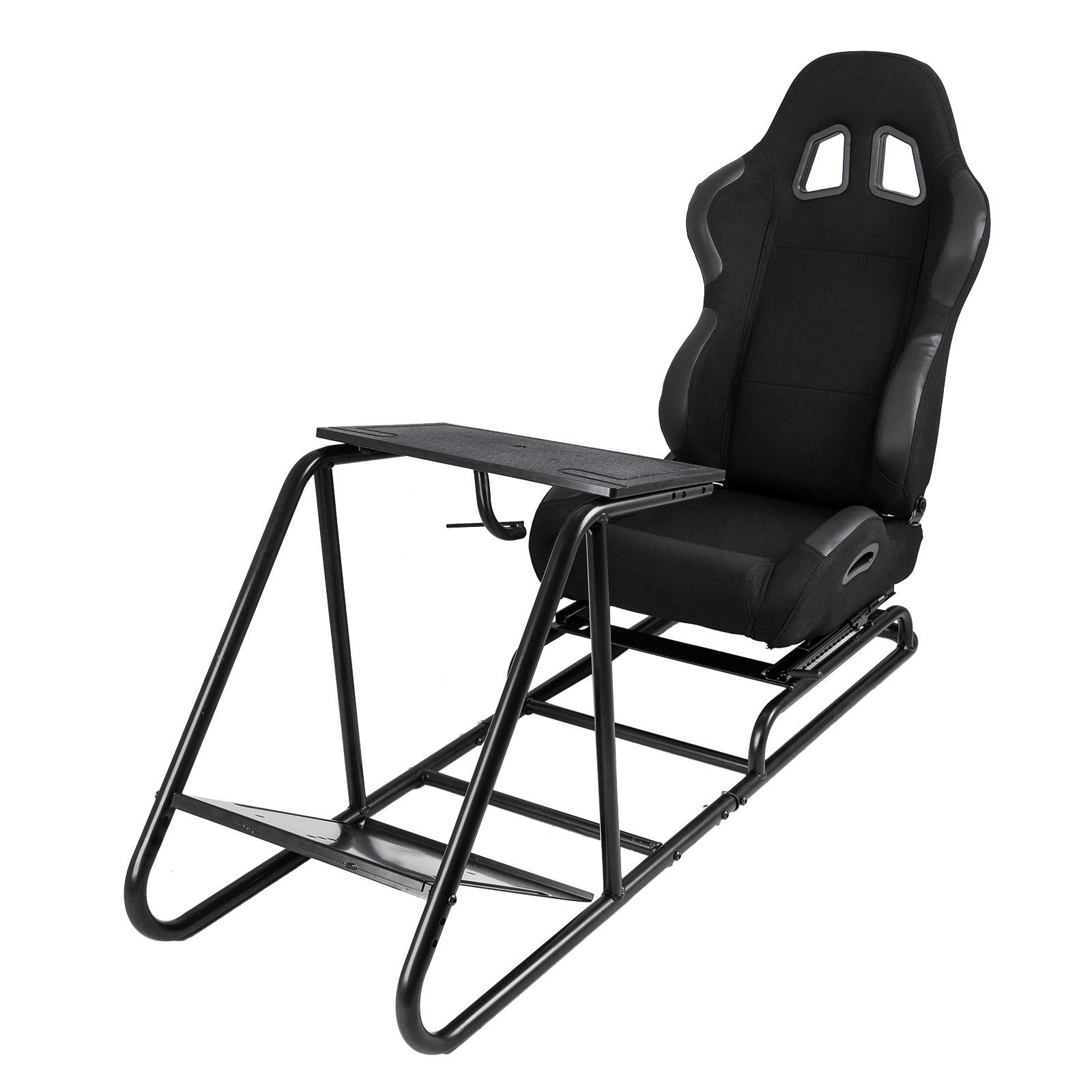 Fine Vevor Driving Simulator Gaming Chair Adjustable And Foldable Andrewgaddart Wooden Chair Designs For Living Room Andrewgaddartcom