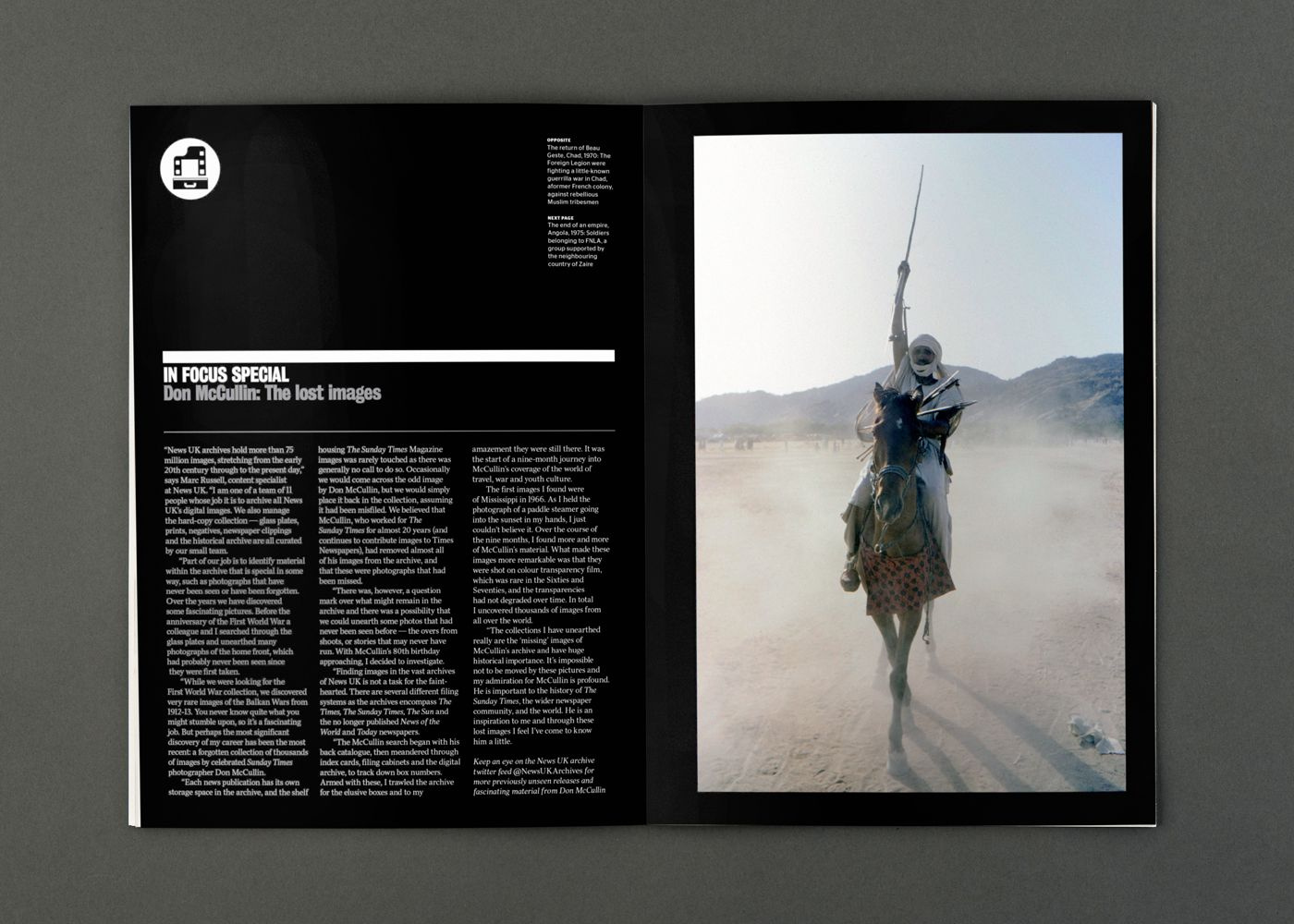 Byline Magazine designed by S-T. #print #design