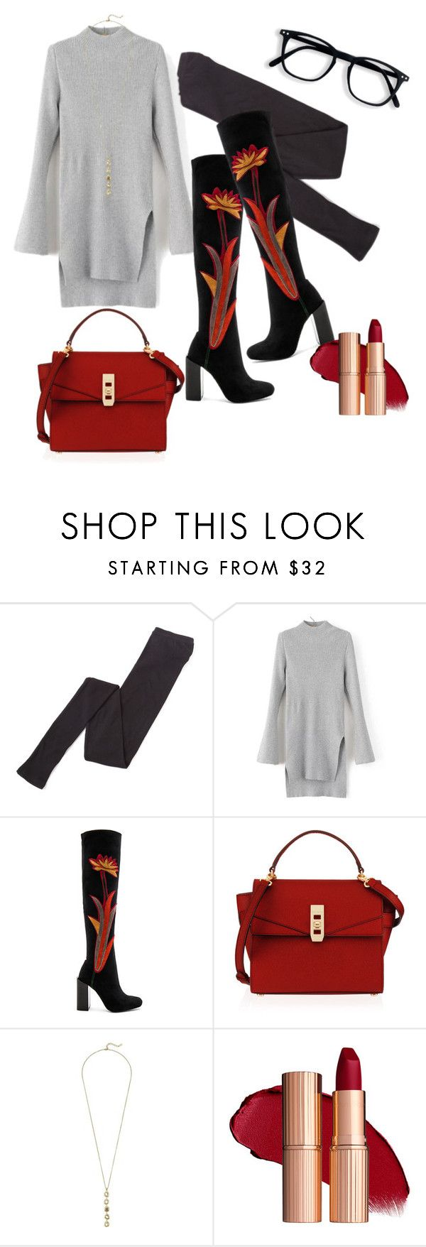 """""""Untitled #702"""" by tammydevoll on Polyvore featuring Margaret Howell, Jeffrey Campbell, Henri Bendel and Cole Haan"""
