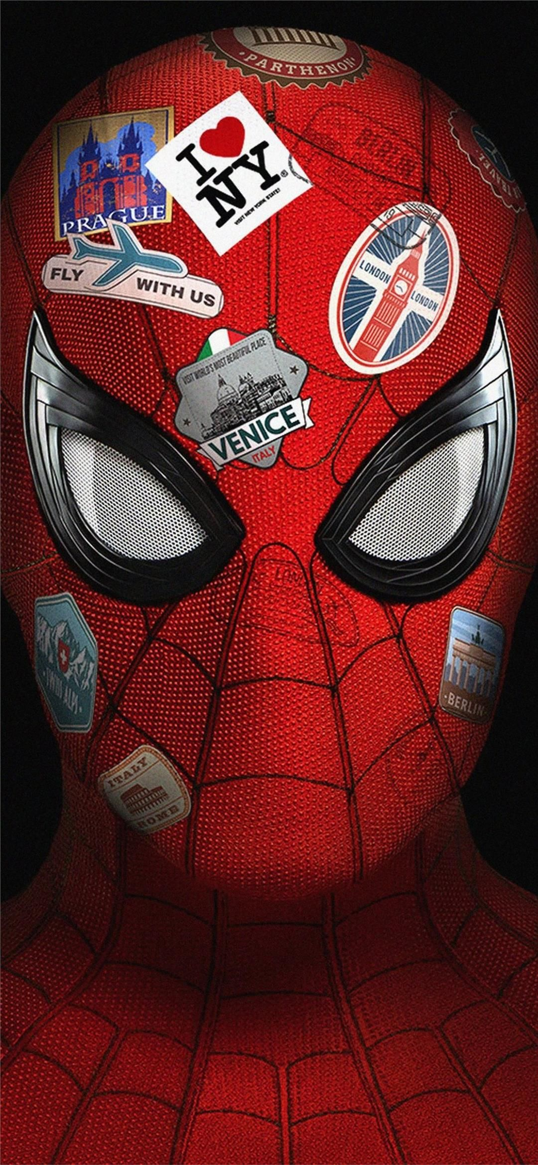 4k Spider Far From Home Xiaomi Redmi Note 8 Pro Wallpapers In 2020