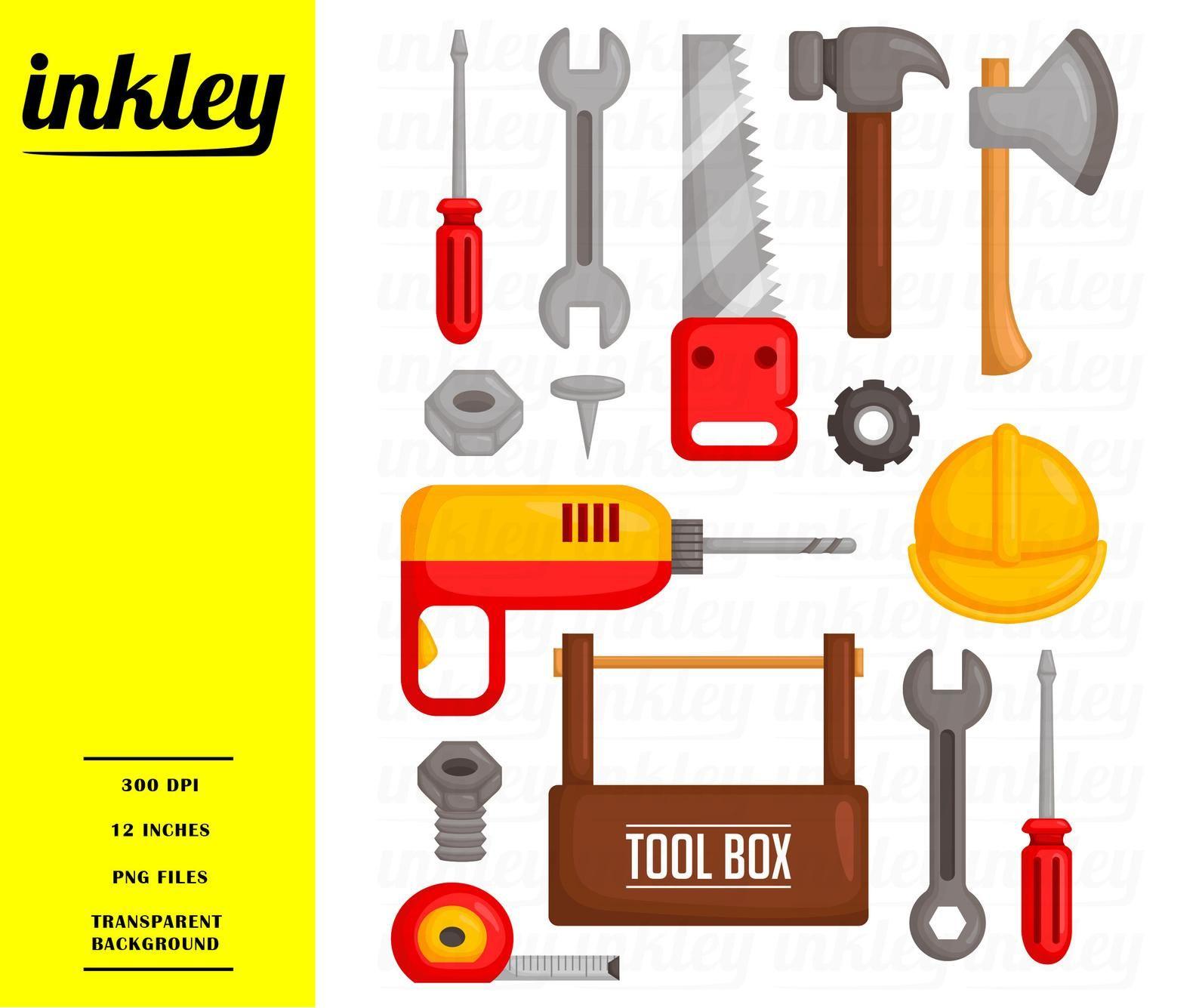 Garage Tools Clipart Toolbox Equipment Clip Art Home
