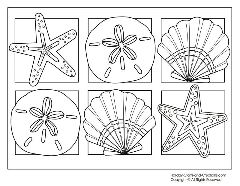 9 cool free summer coloring pages for kids Summer Free and Beach