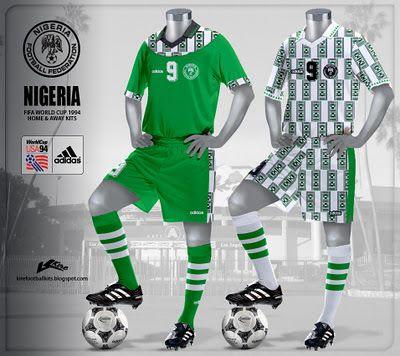 Nigeria Kits World Cup 1994 Football Fashion World Football World Cup