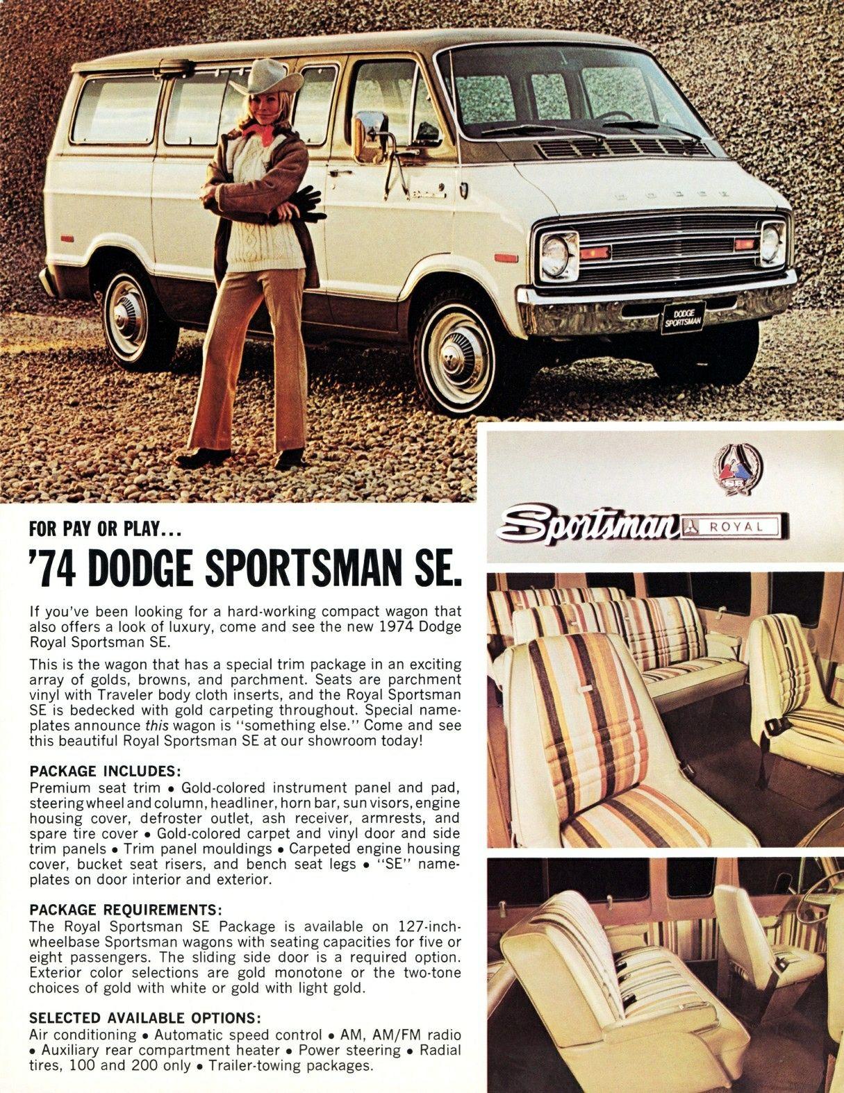 1978 Dodge Sportsman Wagons Dealer Sales Brochure