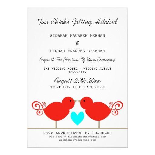 Hochzeitseinladung Lesbisch