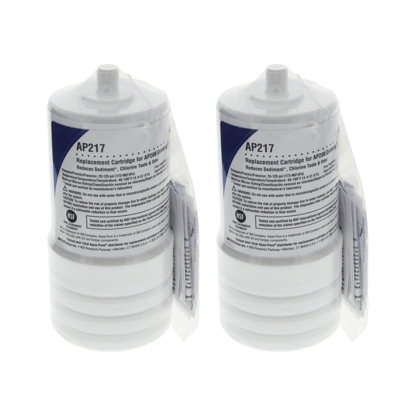 Aquapure Ap217 4629002 Under Sink Replacement Filter Cartridge Pack Of 2 For More Information Visit Image L Sink Replacement Replacement Filter Under Sink