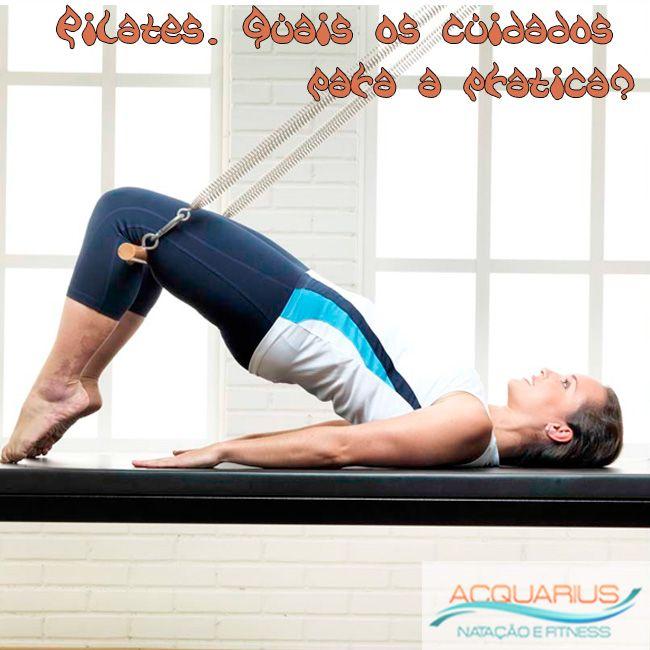 #AcquariusFitness Pilates: Quais os cuidados para a prática? O Objetivo do Pilates. Todos nós sabemos que atividade física é importante para saúde, e algumas pessoas não ... Veja mais em http://www.acquariusfitness.com.br/…/pilates-quais-os-cuid…/ #Venhapra Academia #VenhapraAcquariusFitness #FaçaPilates #PratiqueSaude