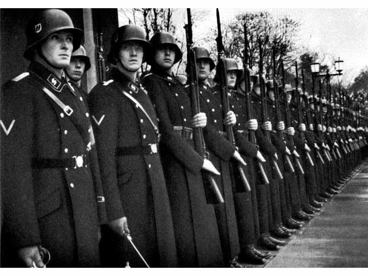 Waffen SS in dress uniform...feb16