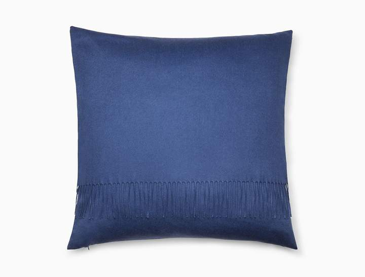 Sensational Calvin Klein Classic Cashmere Fringe Pillow In Black Andrewgaddart Wooden Chair Designs For Living Room Andrewgaddartcom