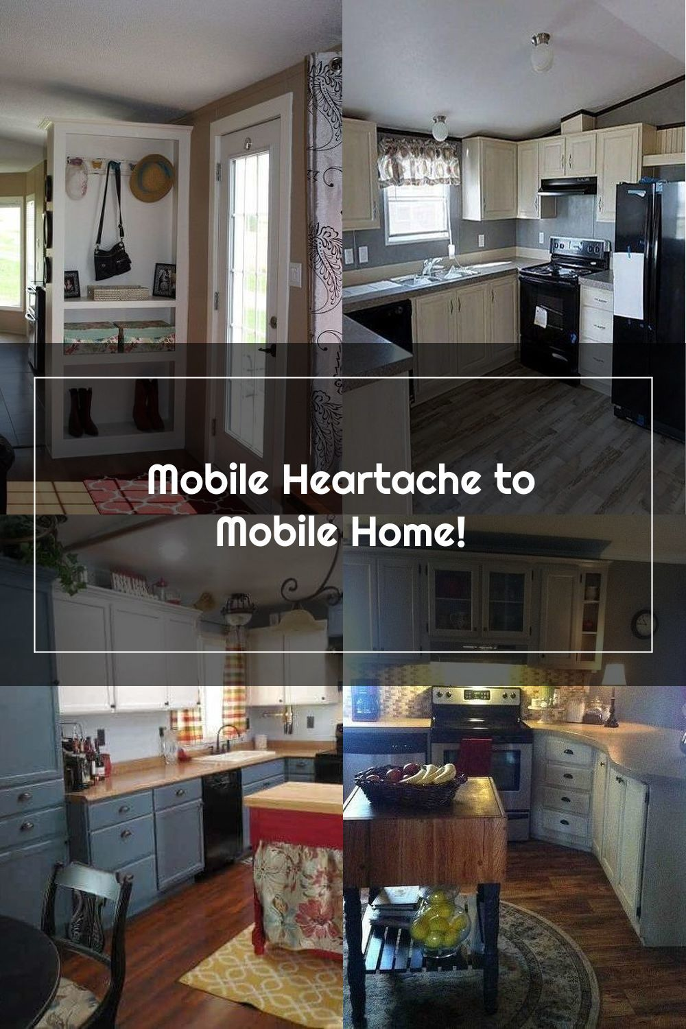 Pin On Mobile Home Kitchens