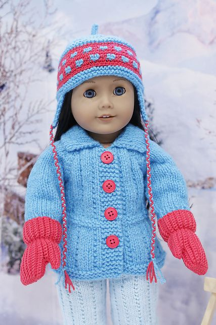 Ravelry: cataddict's winter sports FREEBIE jacket and pants patterns