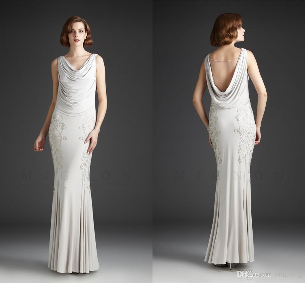 Hq custom made long sexy champagne chiffon evening dress ruched drop