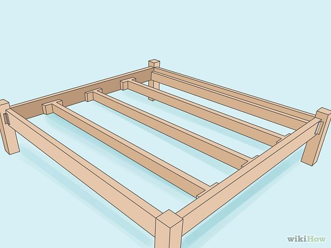 Build A Wooden Bed Frame Wooden Bed Frames Wooden