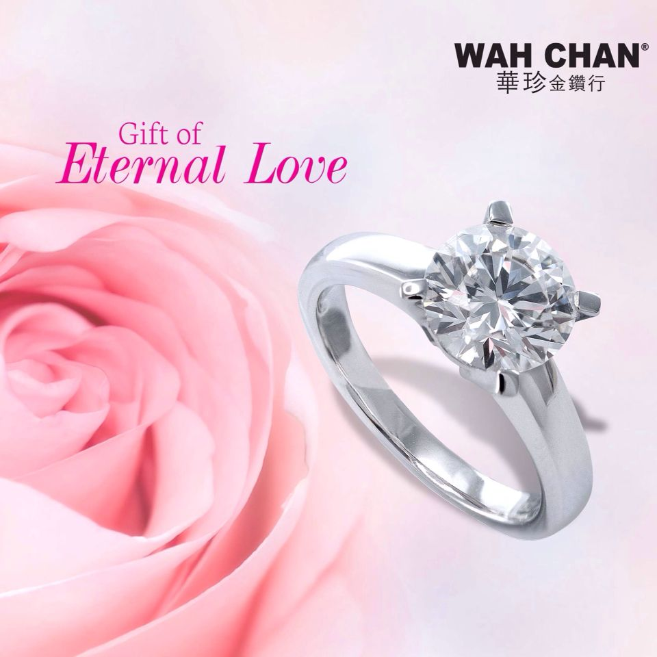 Diamond ring has always been regarded as the gift of eternal love ...