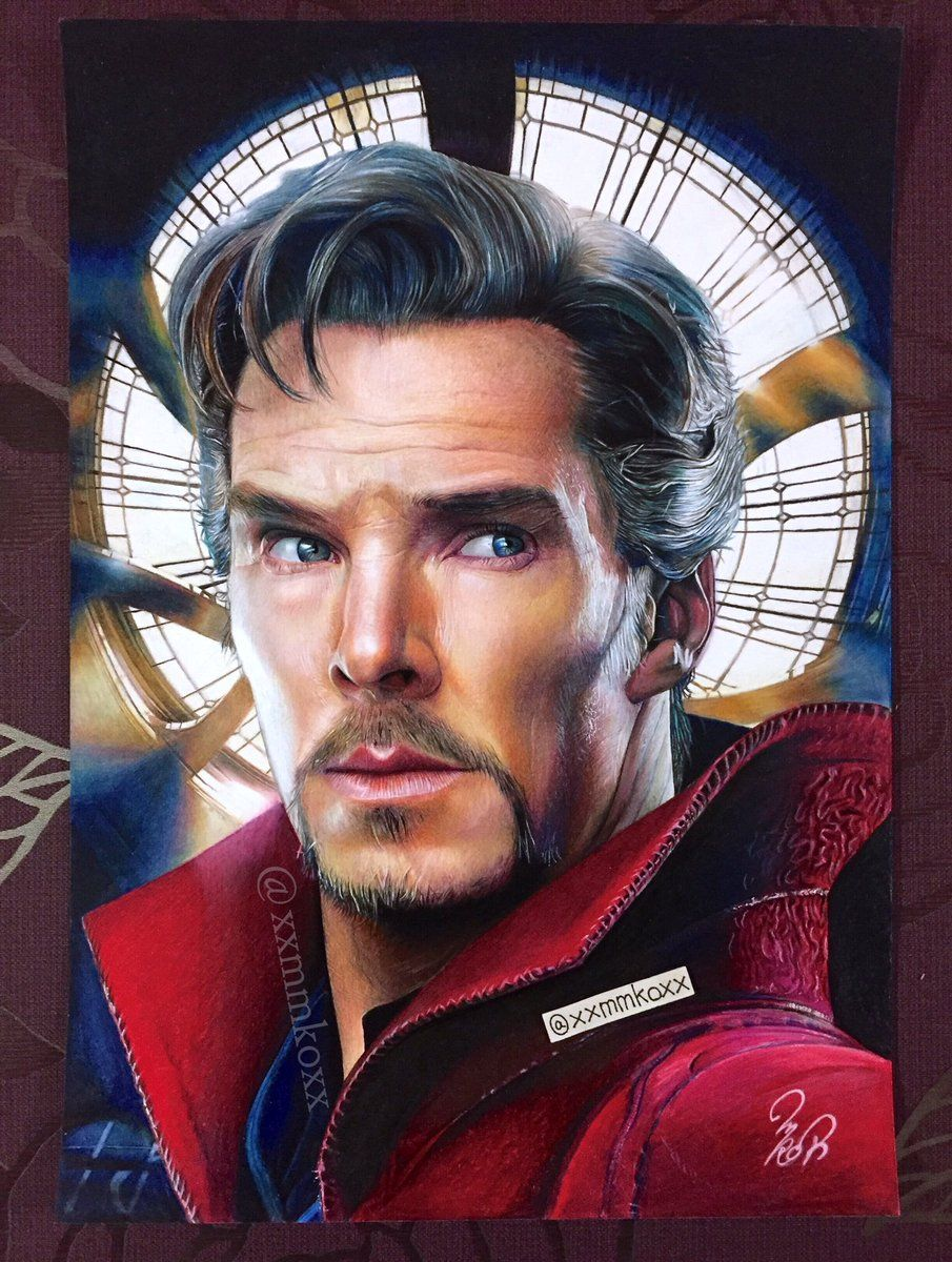 Pencil shading pencil drawings fanart human drawing dr strange colorful drawings