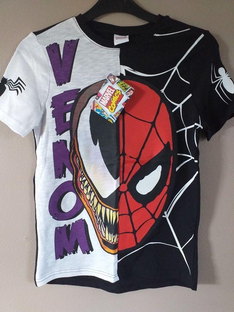 772f864f99090 Jurassic World Marvel Spiderman Venom 3 Peice Kids T-shirt Set Size 8-9  Years  fashion  clothing  shoes  accessories  kidsclothingshoesaccs ...