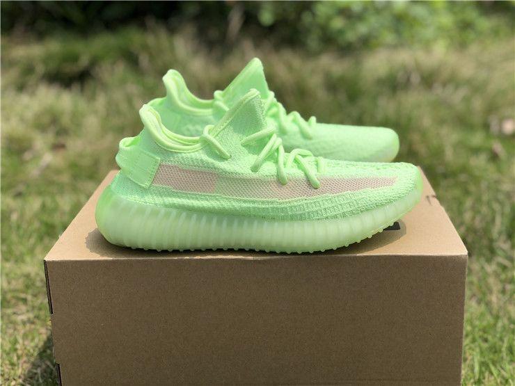 New Style Adidas Yeezy 350 Boost V2 Gid Glow EG5293 Womens