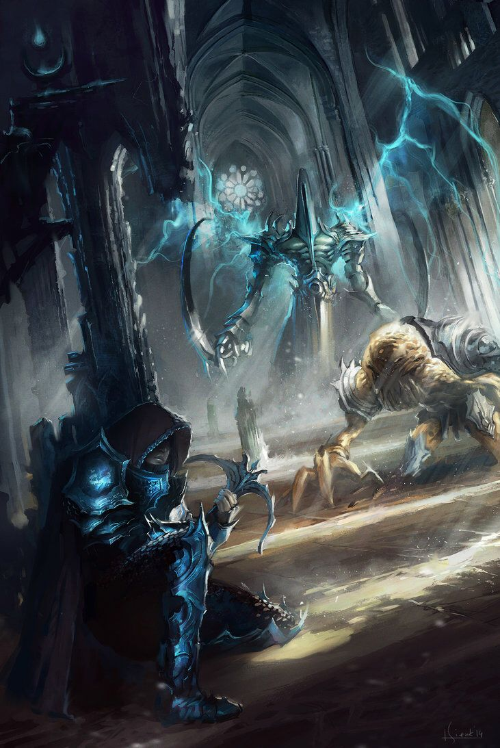 Diablo3 Reaper Of Souls Fan Art Fantasy Art Diablo Diablo 3