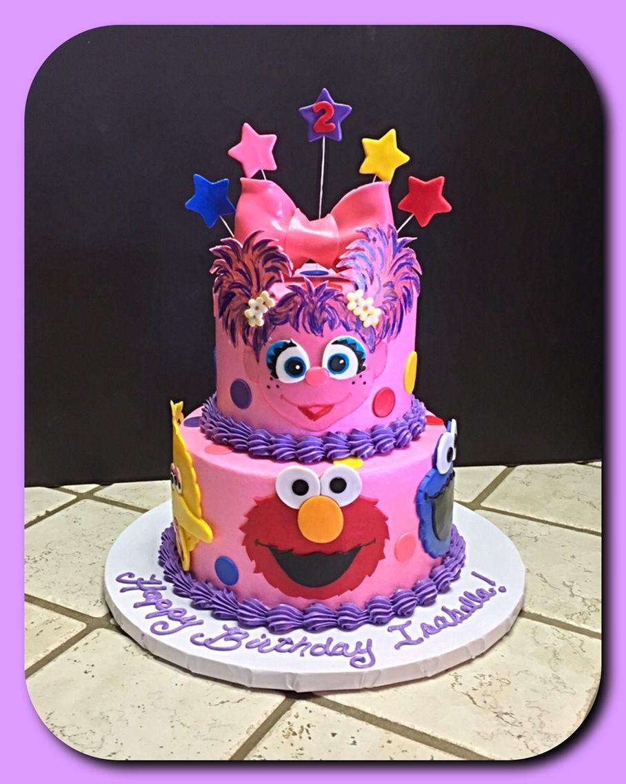 Sesame Street themed cake :)