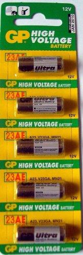 Alkaline Batteries Gp 23ae 12v Pack Of 5 3 22 Household Batteries Alkaline Battery Health