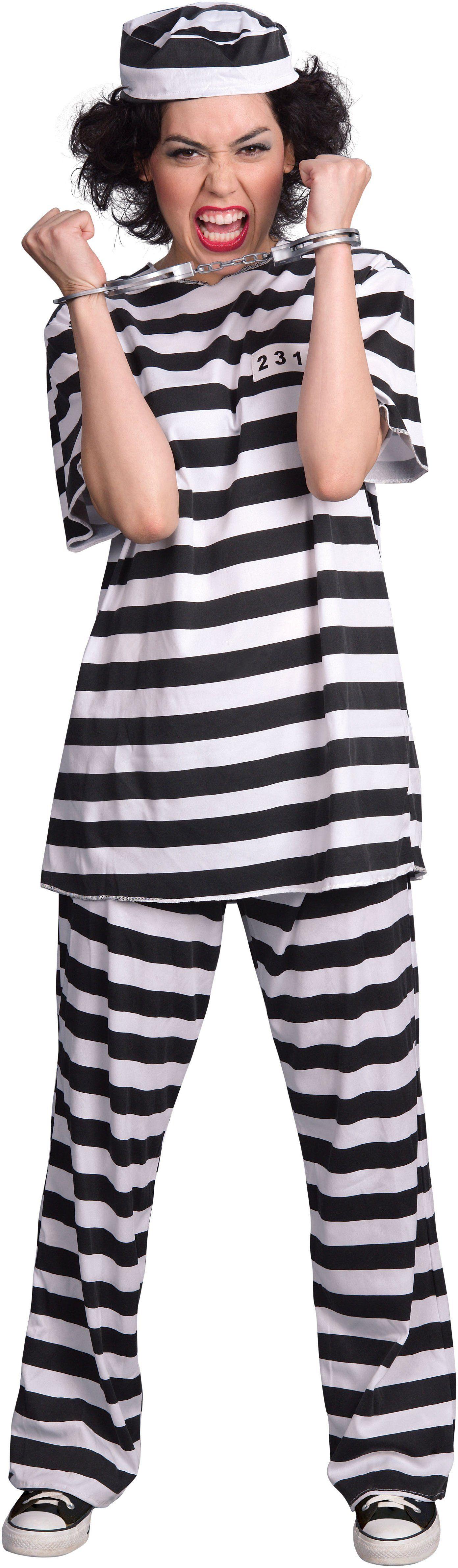 Female Prisoner Adult Costume  sc 1 st  Pinterest & Female Prisoner Adult Costume from Buycostumes.com | Costumes ...
