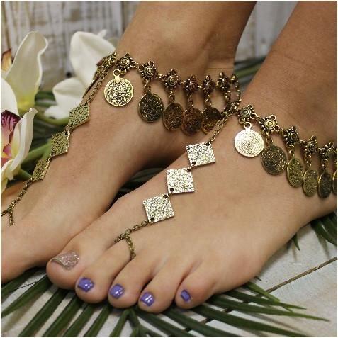 MARIAH boho barefoot sandals