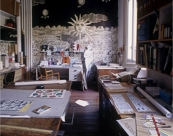 Lavoro Design Interni Milano.Atelier Fornasetti In Milano Design Architecture Daily