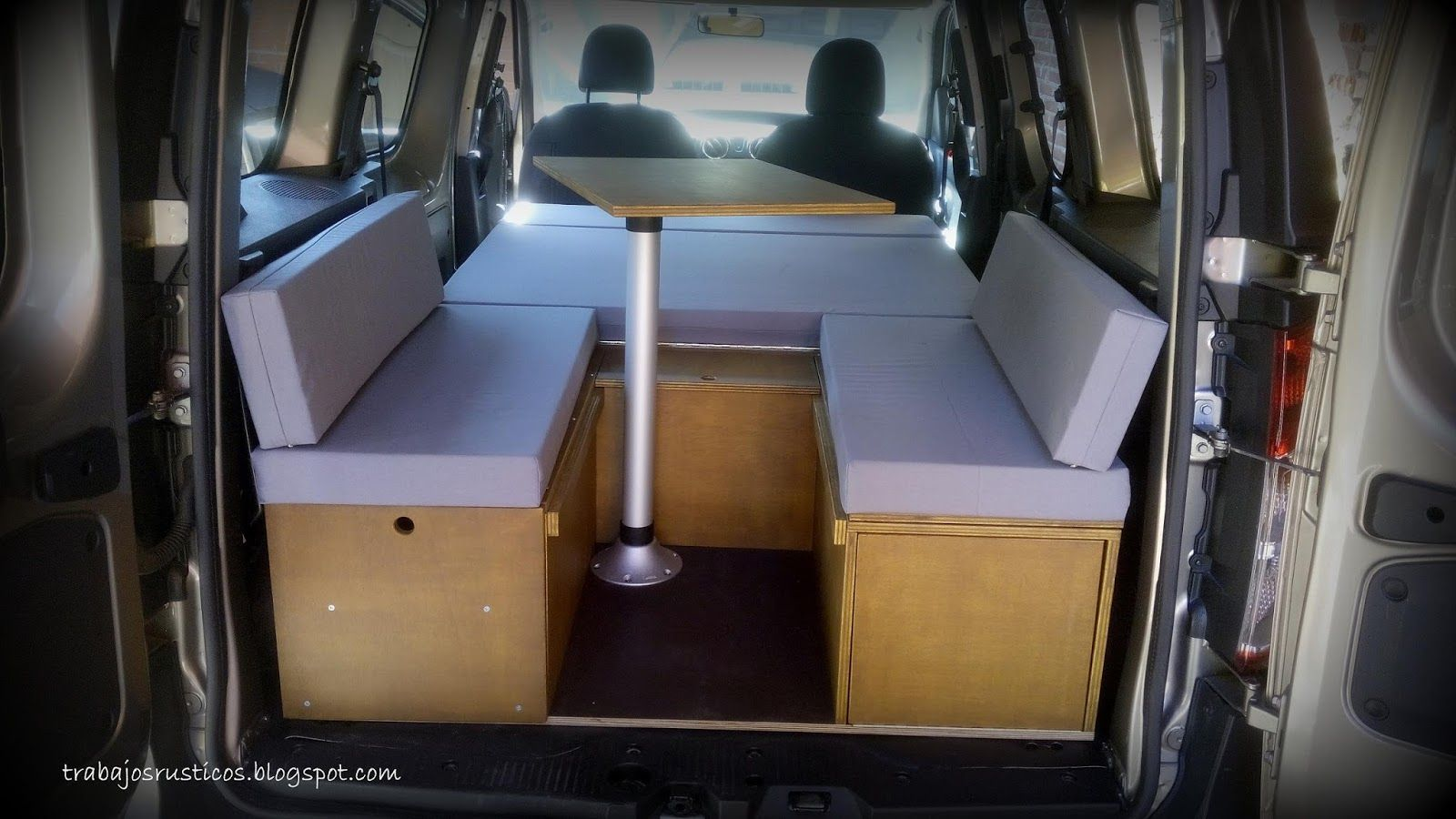 Artesan A Madera Muebles De Madera R Sticos Camperizaciones  # Muebles Peugeot Boxer