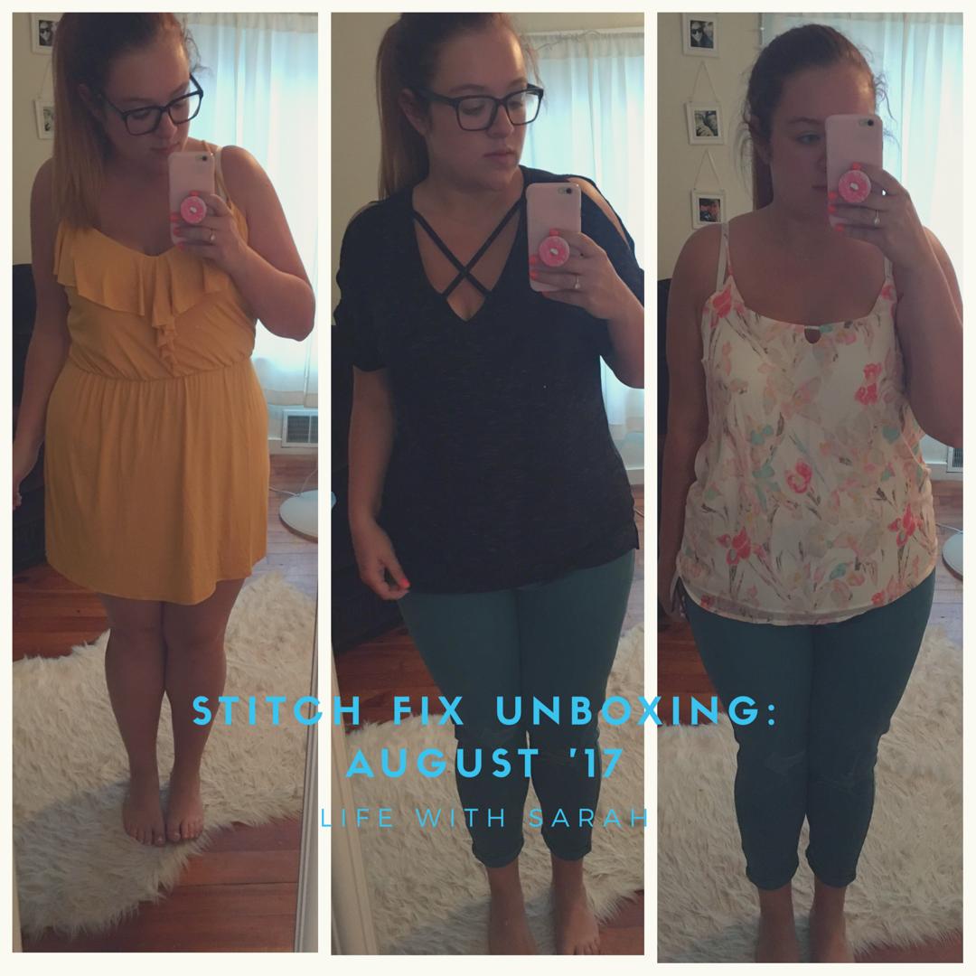 stitch fix unboxing: august '17 | Stitch fix, Stitch, Women