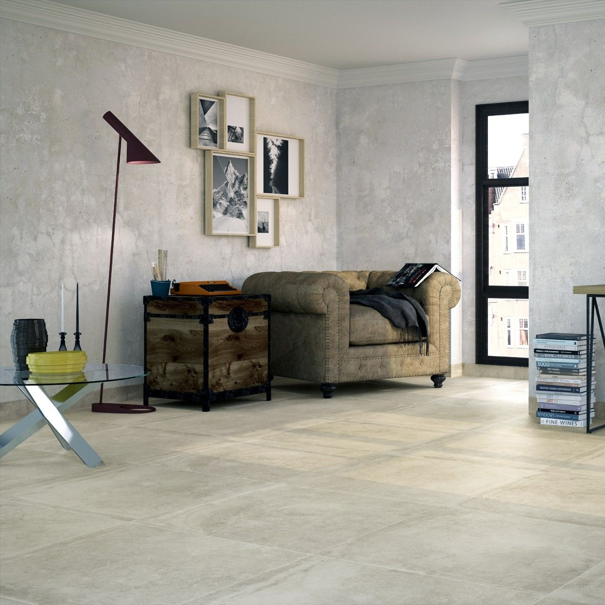 Crown tiles 80x80 monza cream crown tiles large format tiles large range of ceramic patterned floor tiles from tile choice with next day delivery discounts on the cannes cream floor tile dailygadgetfo Choice Image