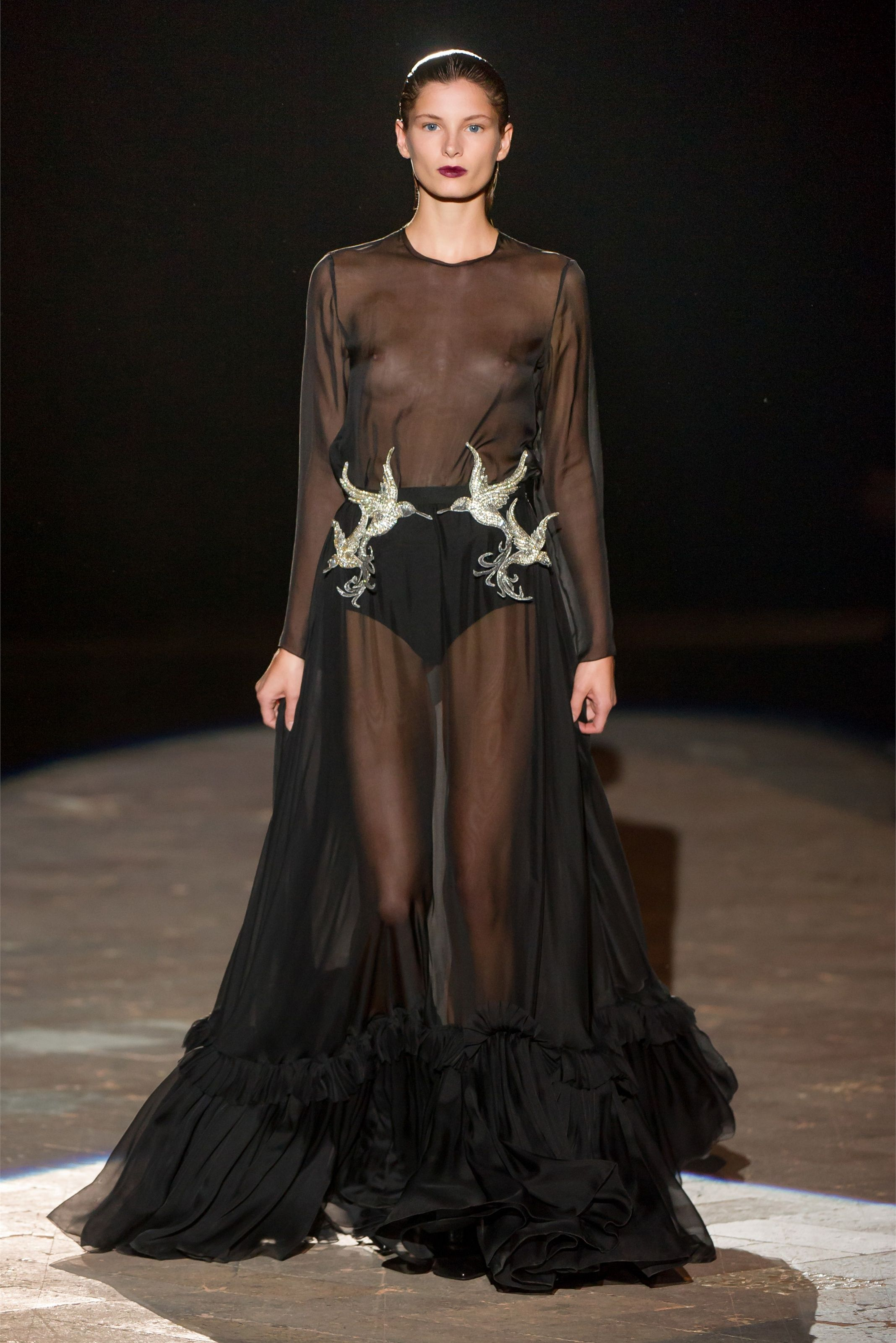 Sfilata Francesco Scognamiglio Milano - Collezioni Primavera Estate 2013 -  Vogue 77299e7758b