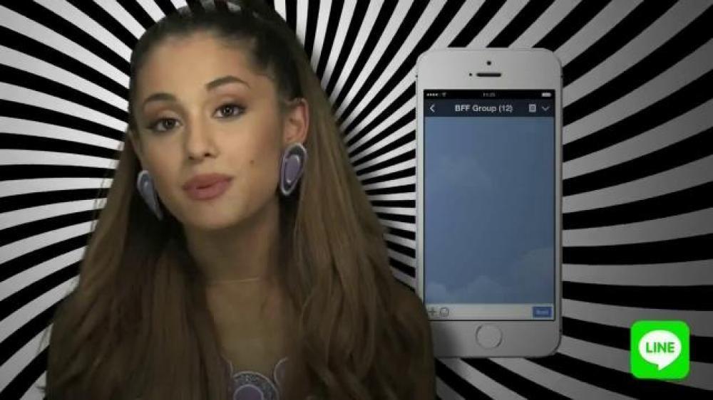 Pin On Ariana Grande Line App